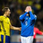 L'Italia è fuori dal mondiale di calcio