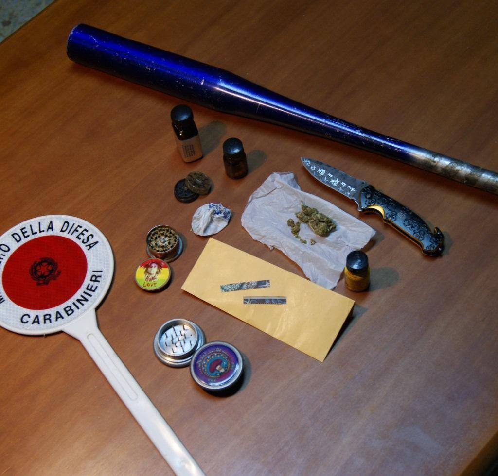 Milazzo (ME): i Carabinieri li sorprendono con droghe sintetiche. Denunciate quattro persone