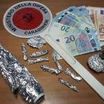 due arresti ed un deferimento per detenzione ai fini di spaccio di sostanze stupefacenti da parte dei Carabinieri della Stazione di Brolo
