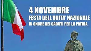 """MESSINA: Celebrazione per la ricorrenza del 04 novembre """"Festa Dell'unità Nazionale"""" e """"Giornata delle Forze Armate"""""""
