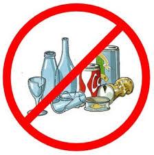 Divieto di vendita di bevande in contenitori di vetro o in lattina durante la manifestazione di kart