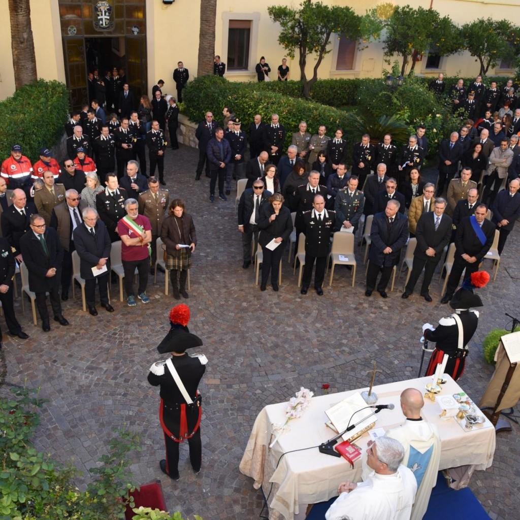 "Messina. Commemorata dai Carabinieri la Patrona del corpo ""Virgo Fidelis"""
