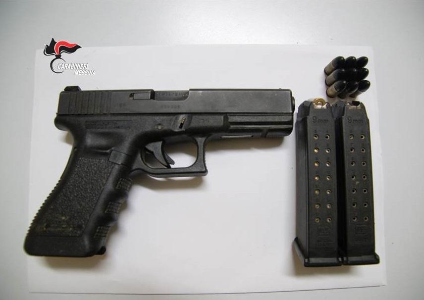 Barcellona Pozzo di Gotto. Detenzione illegale di arma comune da sparo, di munizioni e ricettazione. Arrestato 31 enne
