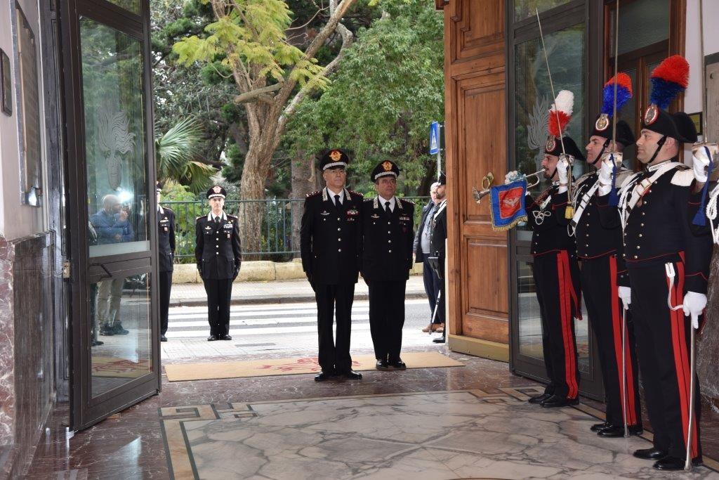 """Il Comandante Generale dell'Arma dei Carabinieri, Generale di Corpo d'Armata Giovanni NISTRI , in visita al Comando Interregionale Carabinieri """" Culqualber """" di Messina"""