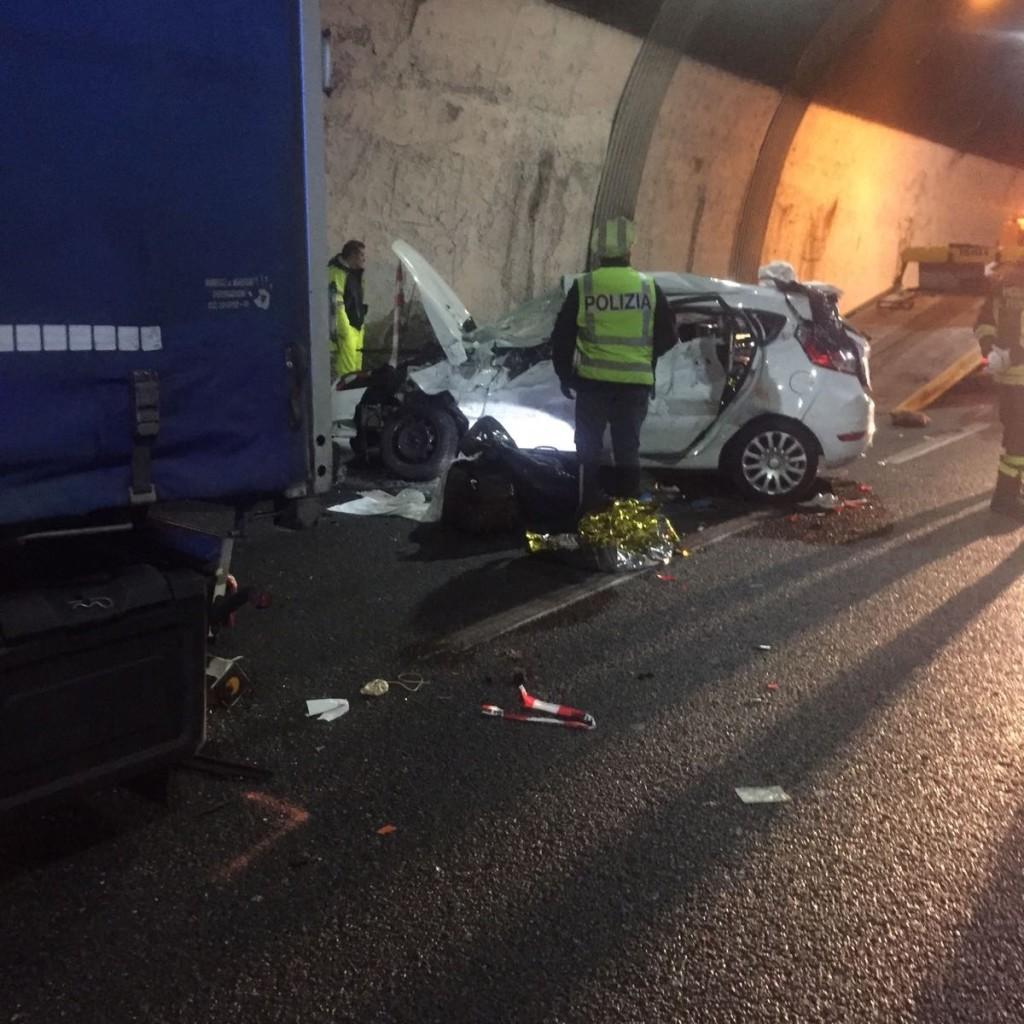 Foto incidente Genova