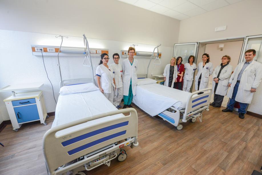 Gli elogi al reparto di Neurologia delle Molinette di Torino