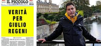 """Amnesty International Italia – Anche Milazzo chiede """"Verità per Giulio Regeni"""""""