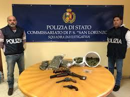 PALERMO. ARMI E DROGA ALLO ZEN: LA POLIZIA DI STATO IRROMPE IN UN APPARTAMENTO E SEQUESTRA PISTOLE, FUCILI, MUNIZIONI ED UN INGENTE QUANTITATIVO DI DROGA. TRE ARRESTI