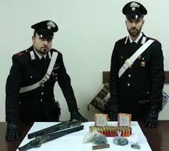 Messina: blitz dei carabinieri a Bordonaro, rinvenute armi e munizioni