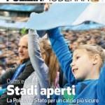 Poliziamoderna dedica il numero di febbraio (primo piano) al mondo del pallone