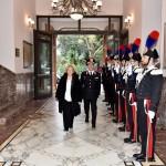 """Visita del Prefetto di Messina al  Comando Interregionale Carabinieri """"Culqualber"""""""