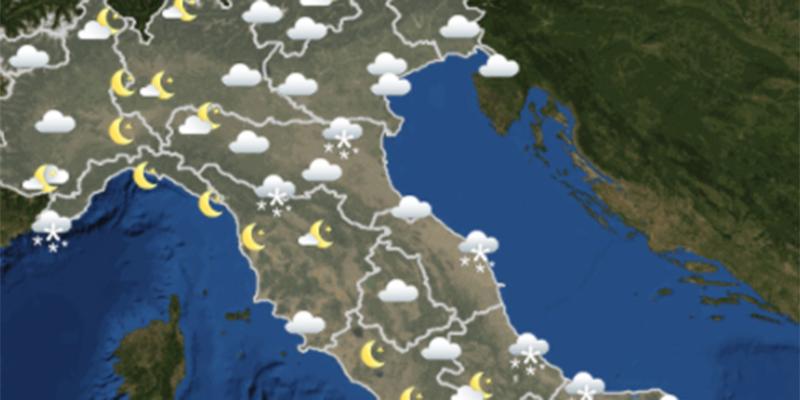 Viabilità Italia e previsioni meteo