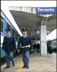 AGENTI DELLA POLIZIA FERROVIARIA DI TARANTO ARRESTANO CITTADINO BULGARO PER TENTATO OMICIDIO