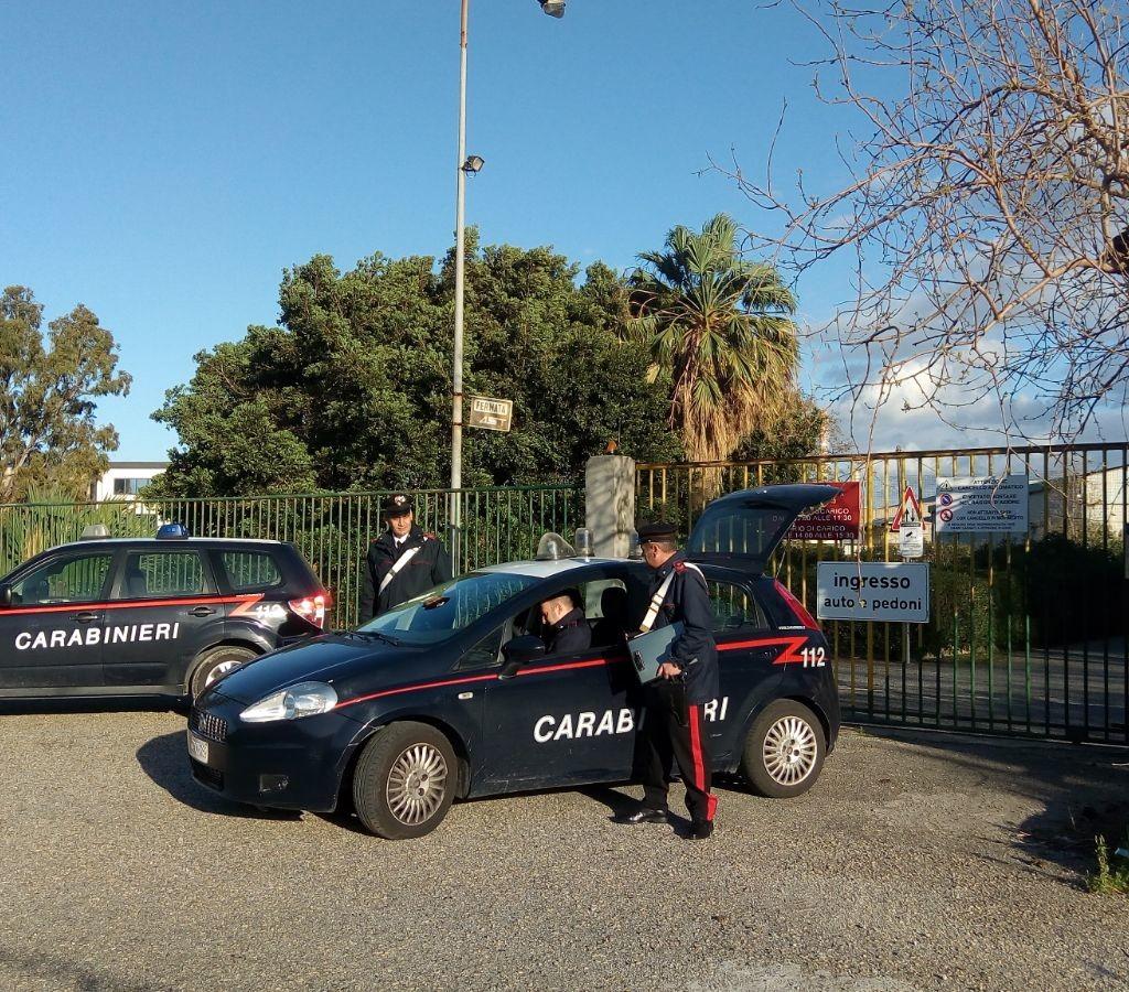 Pace del Mela (ME); i Carabinieri arrestano per furto aggravato una banda di ladri provenienti da Catania