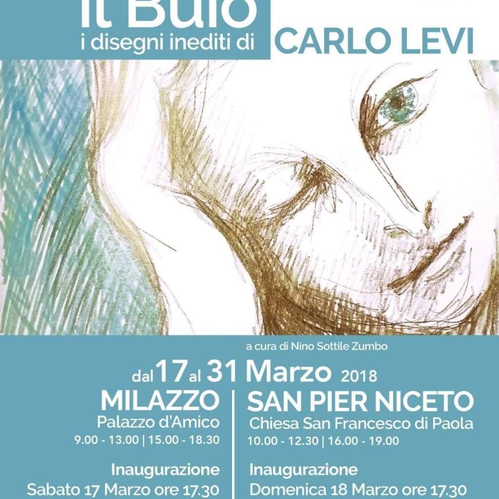 I disegni della cecità di Carlo Levi, mostra a palazzo D'Amico. Sabato l'inaugurazione a Milazzo