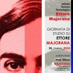 GIORNATA DI STUDIO SU ETTORE MAJORANA  a ottanta anni dalla scomparsa