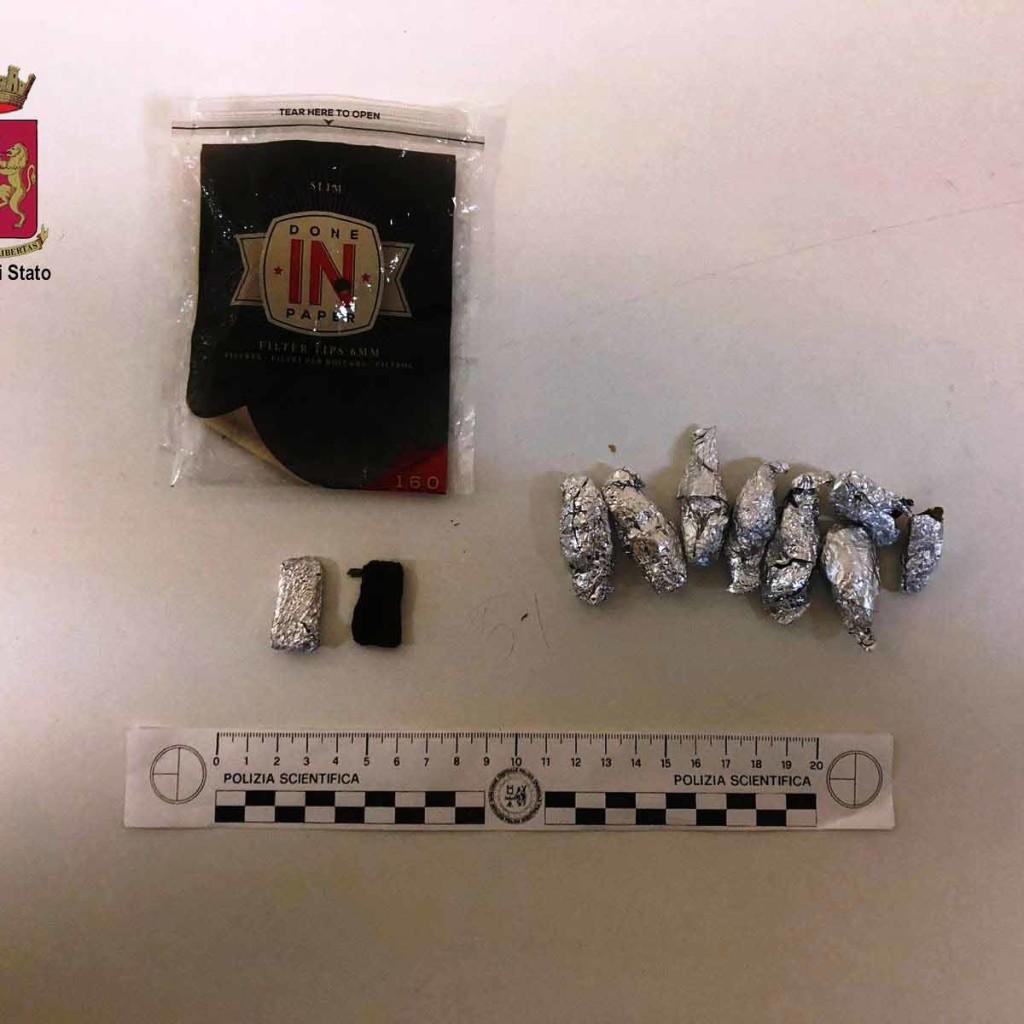 La Polizia di Stato arresta giovane spacciatore: le Volanti della Questura di Messina intensificano i controlli in città