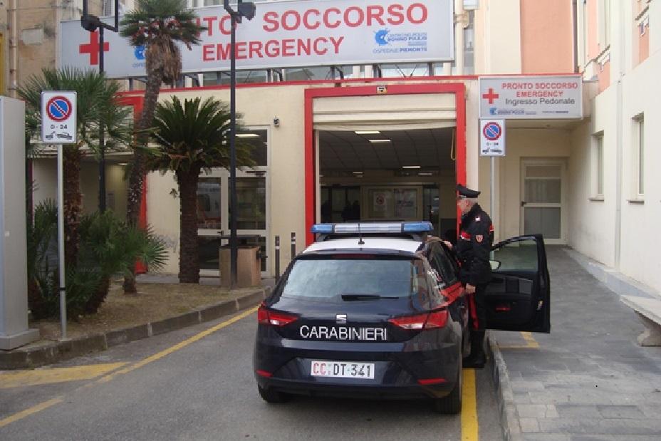 Messina: Danneggia gli arredi del Pronto Soccorso, 60enne denunciato dagli uomini del Nucleo Radiomobile Carabinieri