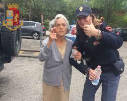ROMA. 92ENNE ESCE DI CASA FACENDO PERDERE LE PROPRIE TRACCE. RINTRACCIATA DAGLI AGENTI DELLA POLIZIA DI STATO