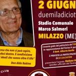 Milazzo ospita il terzo memorial Don Aldo Rabino