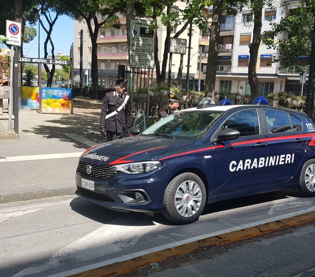Blitz dei Carabinieri alla villetta Quasimodo, in manette 2 spacciatori