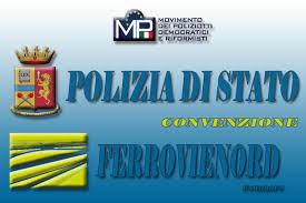 SICUREZZA NELLE STAZIONI: FIRMATO PROTOCOLLO TRA POLIZIA DI STATO E FERROVIENORD