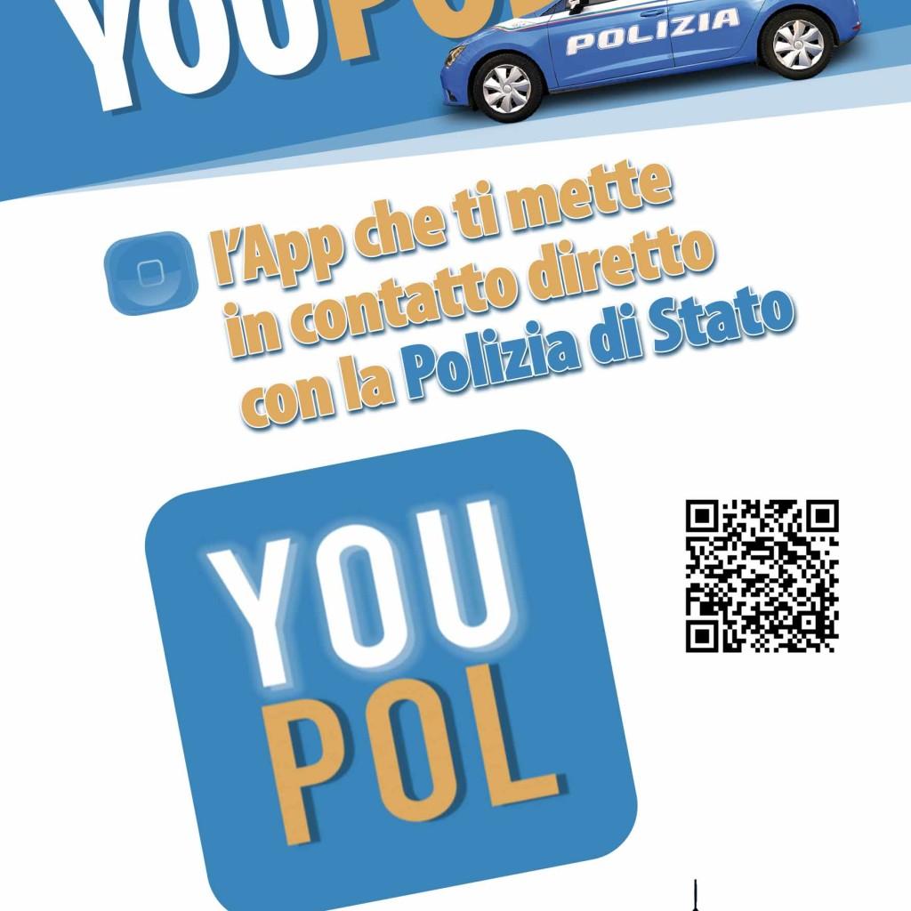 La Polizia di Stato incontra studenti, Dirigenti scolastici e genitori per parlare della nuova App YouPol. L'appuntamento domani presso il complesso Calipari. A presentarla il Questore Mario Finocchiaro