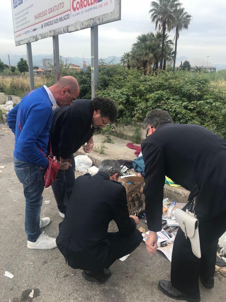 Mancata differenziazione dei rifiuti e abbandono selvaggio, decine di multe a Milazzo