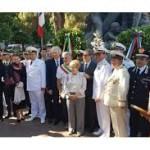 Cerimonia commemorativa del centodecimo anniversario del terremoto e  dell'intervento dei marinai russi. Inaugurazione della sede del  Consolato Onorario della Federazione Russa