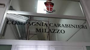 Il S. Ten. Michele PUZZO al Comando del NORM della Compagnia di Milazzo