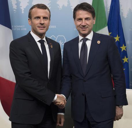 Colloquio telefonico tra il Presidente del Consiglio Conte e il Presidente della repubblica francese Macron sulla vicenda Aquarius