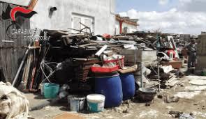 MATERA: I Carabinieri Forestali di Matera sequestrano area comunale per  abbandono di rifiuti