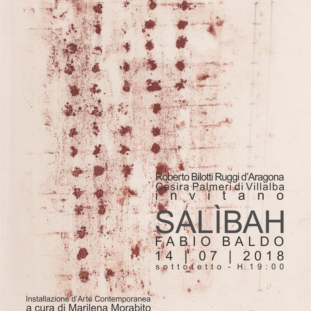 Installazione Arte Contemporanea  Palazzo Oneto di Sperlinga. Palermo  14 luglio|4 novembre 2018