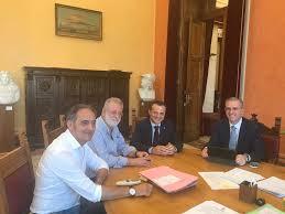 Messina, Cateno De Luca incontra Assessore regionale delle Infrastrutture e della mobilità
