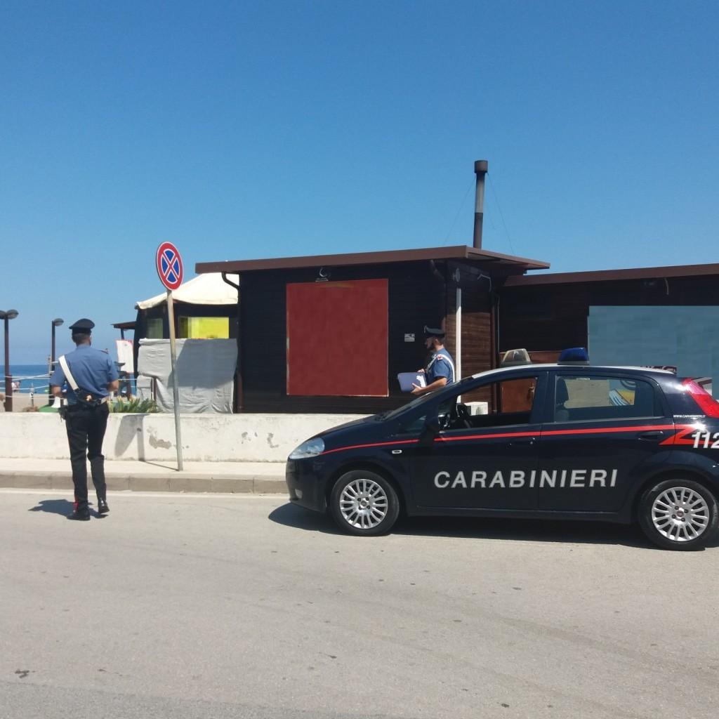 Patti (ME): controlli straordinari agli esercizi pubblici del litorale svolti dai Carabinieri della locale Compagnia