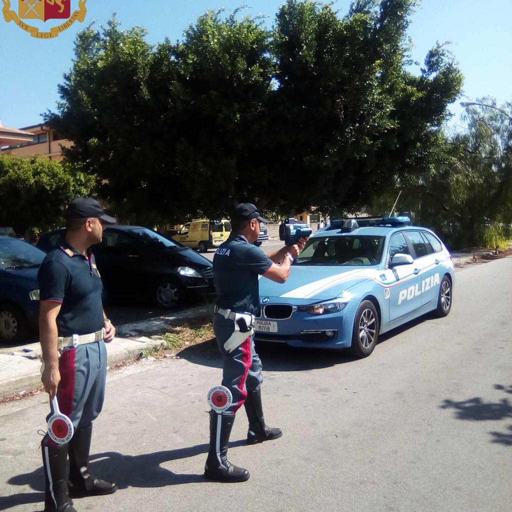 Controlli straordinari della Polizia di Stato. Elevate sanzioni per oltre 15.000,00 euro, sequestrati diversi mezzi