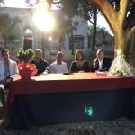 La cerimonia di riapertura dei Giardini di Villa Vaccarino a Milazzo