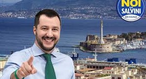 Messina, visita del Ministro dell'Interno Matteo Salvini