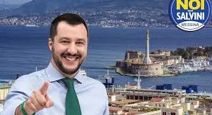 Messina, visita del Ministro dell'Interno Matteo Salvini
