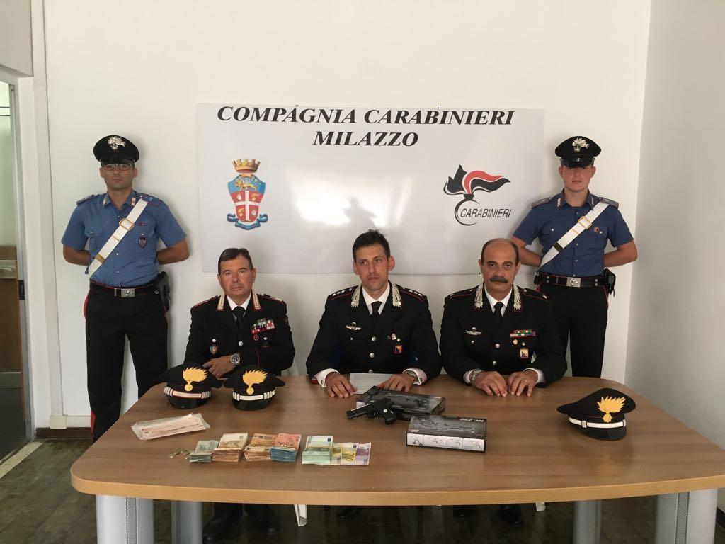 Lipari (ME): rapina all'istituto bancario MPS. I Carabinieri identificano, rintracciano ed arrestano i tre autori. Recuperati 23 mila euro.
