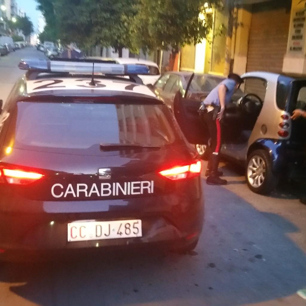 Messina litoranea Nord: nella notte, dopo un tamponamento, giovane aggredisce la controparte e fugge simulando il furto del proprio veicolo. denunciato dai Carabinieri Nucleo Radiomobile