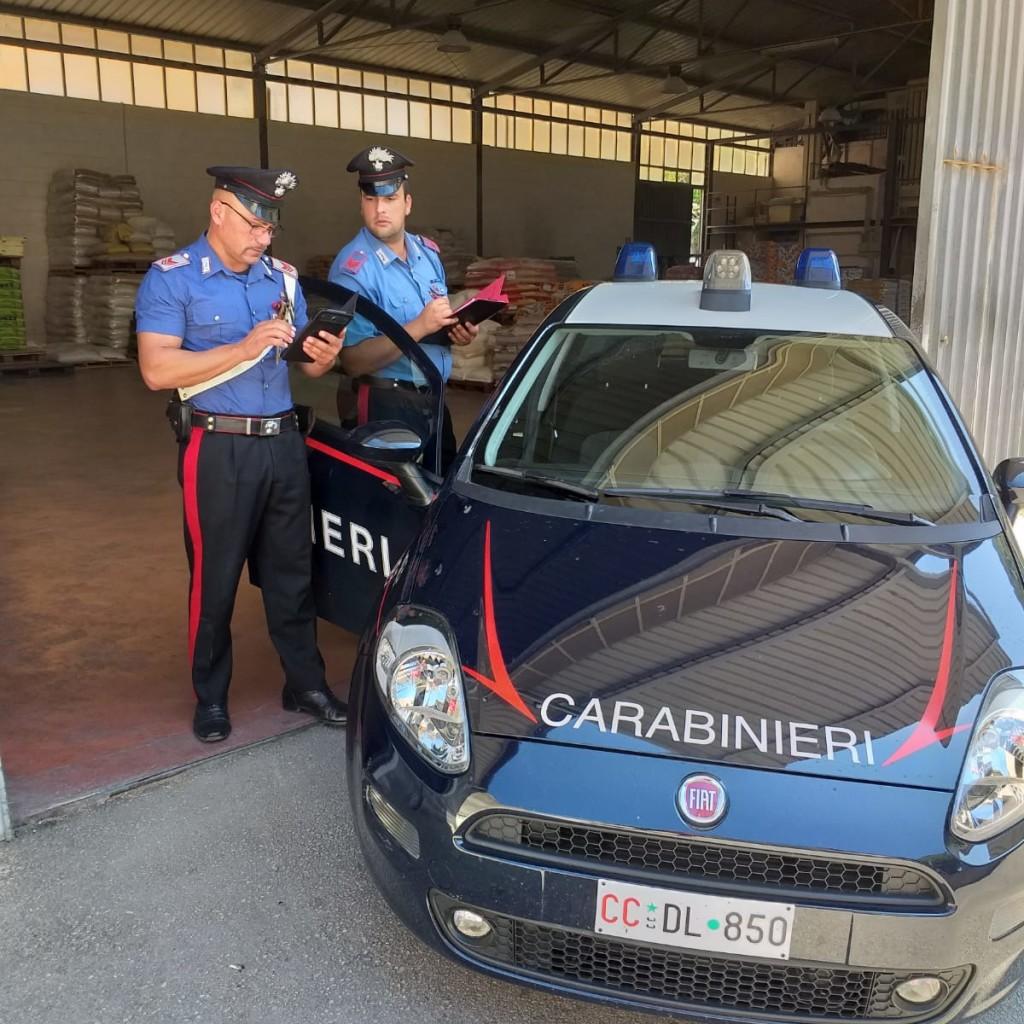 PATTI (ME): Attività Ispettive condotte dall'Arma dei Carabinieri