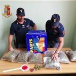 Servizi antidroga. La Polizia di Stato di Messina sequestra più di due chili d'erba e ne arresta il detentore