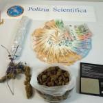 La Polizia di Stato arresta giovane messinese: rinvenuti presso la sua abitazione 176,30 grammi di cannabis modificata e 2.300,00 Euro. Dovrà rispondere di detenzione ai fini di spaccio
