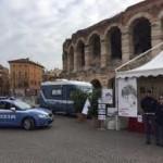 PRESENTAZIONE DEL VILLAGGIO AZZURRO DELLA POLIZIA DI STATO A VERONA