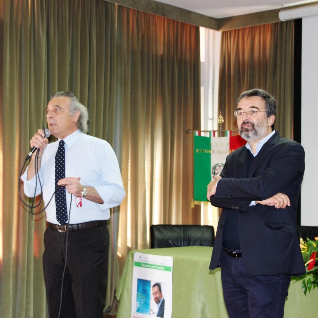"""Il direttore de L'Espresso Marco Damilano ospite dell'ITT """"Ettore Majorana"""" di Milazzo"""