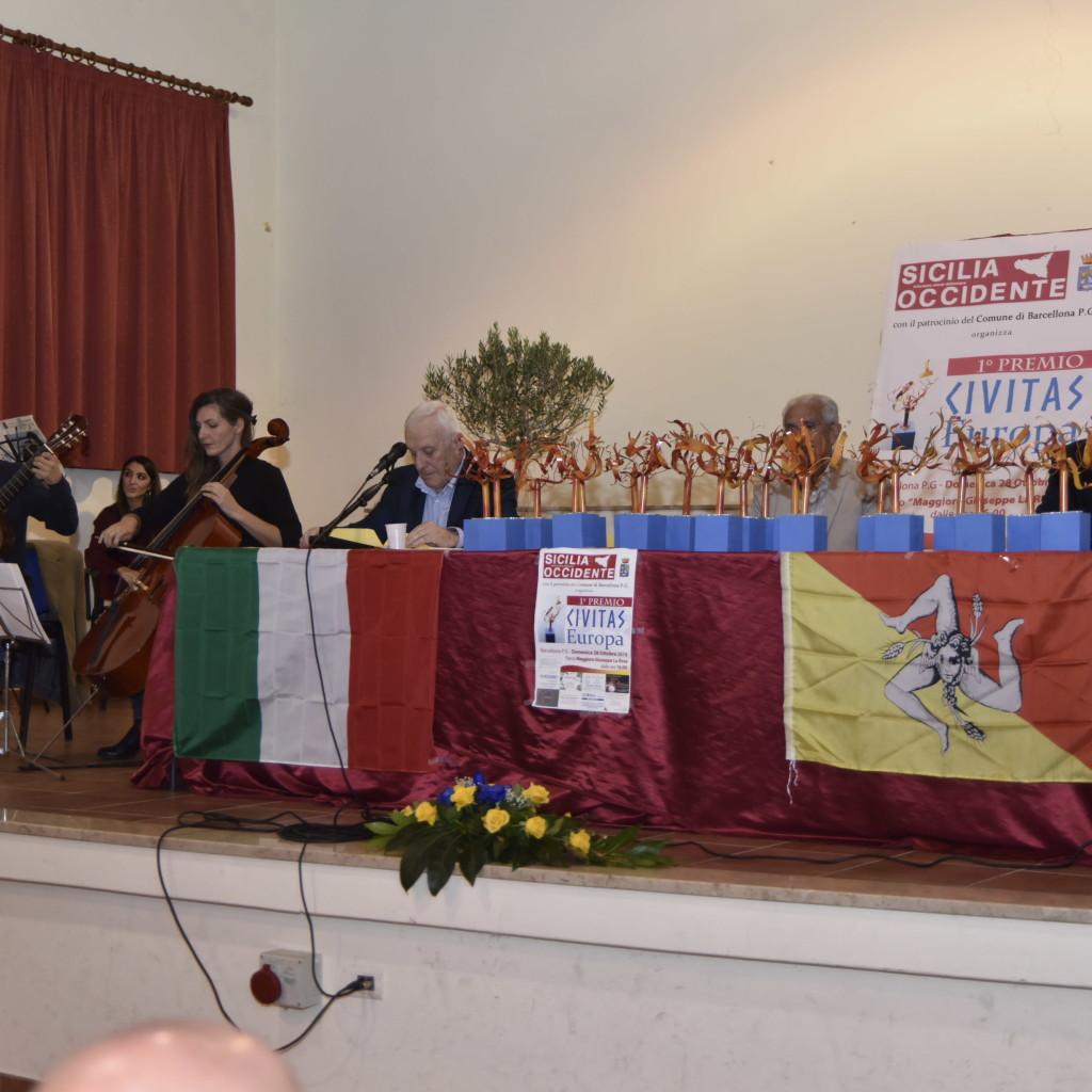 """SICILIA OCCIDENTE organizza a Barcellona P.G. il """"Primo Premio CIVITAS Europa"""""""
