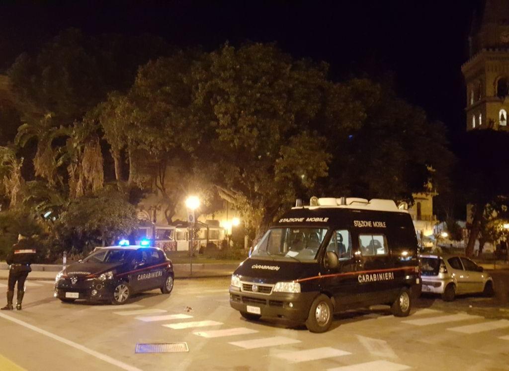 """Messina: Servizio Straordinario dei Carabinieri per la """"Movida"""" Messinese, 14 persone denunciate e 18 contravvenzioni elevate"""