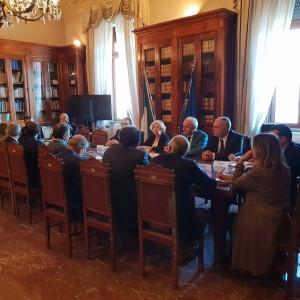 VALUTAZIONI CRITICITA' DEI CORSI D'ACQUA PRESENTI NEL TERRITORIO PROVINCIALE. RIUNIONE IN PREFETTURA