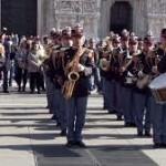 """TORINO. Il concerto della Banda Musicale della Polizia di Stato e la presentazione del volume illustrato """"Polizia e Motori – la lunga strada insieme""""."""
